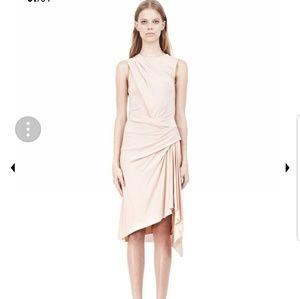 Alexander Wang twisted drape front dress
